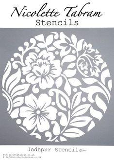 New Wall Stencil Patterns Templates Art Deco 46 Ideas Stencil Patterns, Embroidery Patterns, Mandala Stencils, Stencil Designs For Walls, Machine Silhouette Portrait, Diy And Crafts, Paper Crafts, Stencil Diy, Kirigami