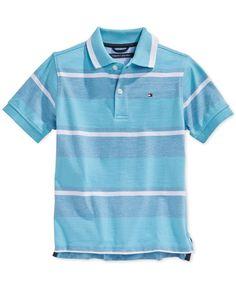 Tommy Hilfiger Boys' Austin Striped Polo Shirt