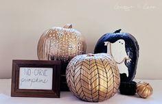 Pumpkin Carving Alternatives | Lacquer & Linen