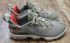 ca23ea4735 NIKE LEBRON 14 XIV LOW Men's Sz 11 Olive. Dark STUCCO Camo BASKETBALL Shoes  #
