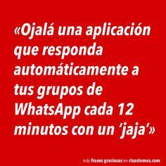 Responder automáticamente a tus grupos de WhatsApp | Risa Sin Más