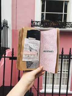 Art Journal Sessions in Notting Hill. Pink pink pink. @milouvollebregt
