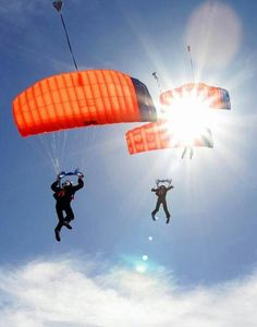 Skydiving (image only)