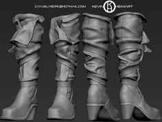 ArtStation - WIP Ciri The Witcher 3, Kevin Cayuela (KevinHeiwart)