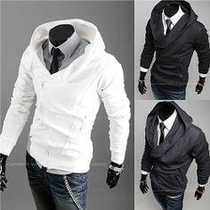 Asymmetric Zip Hoodie Jacket