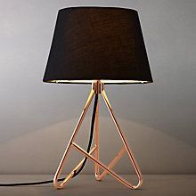Buy John Lewis Albus Twisted Table Lamp Online at johnlewis.com