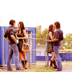 Riggins and Lyla.  FNL is awesome and you should watch it.
