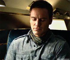 MichaelFassbender as Magneto in X Men: DOFP