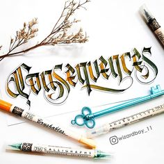 Gothic Lettering, Lettering Design, Hand Lettering, Calligraphy Letters, Caligraphy, Modern Calligraphy, Beautiful Lettering, Beautiful Fonts, Graphic Design Letters