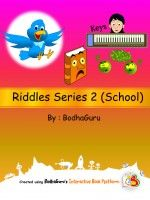 "Riddles Series 2 (School) .Njoy riddles related to school. Do try #freeapps ""Read Children Book"" for better reading experience."
