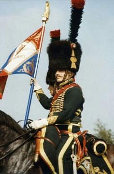 Cacciatori a cavallo della guardia imperiale francese
