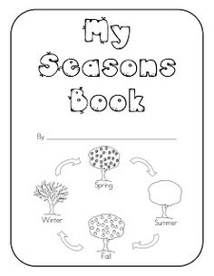 My Seasons Book -has one page per season with a tree to decorate and thermometer