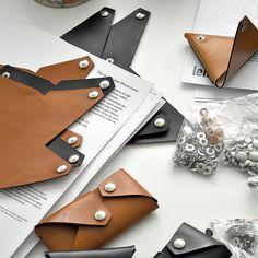Lemur Design Studio - Leather Foldable accessories www.lemur-store.com