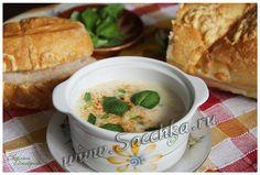 Рецепт сырного супа пюре с грибами