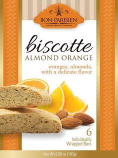 Biscotti - Biscotte   Almond Orange from Bon Parisian /  Bon-Parisien visit www.bonparisian.com