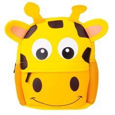 Animal Print School Backpack