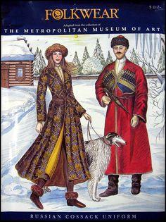 Russian Cossack Ensemble Uniform  Folkwear 502 out of print (1993?)