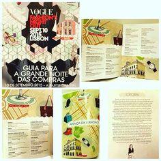 VFNO'15 by JFD Ideas and Details | 10 Set. a partir das 18h. A brochura com o roteiro oficial do Vogue Fashion Night Out 2015 já se encontra disponível. #moda #work #desfile #jfd_ideas_and_details #jfdideasanddetails