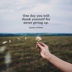One day you will thank yourself for never giving up. via (http://ift.tt/2zVPaCj)