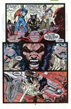 The Uncanny X-Men #268 (Marvel Comics - September 1990) •Jim Lee (Pencils) & Scott Williams (Inks)