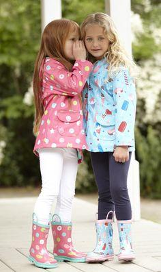 Hatley Scribble Dots Raincoat is just perfect!