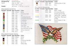 Schema punto croce Usa-flag-2