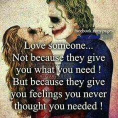 Discover and share Harley Quinn And Joker Quotes. Explore our collection of motivational and famous quotes by authors you know and love. Joker Quotes, Me Quotes, Qoutes, Nerd Love Quotes, Young Quotes, Madly In Love, My Love, Joker Und Harley Quinn, Citations Film