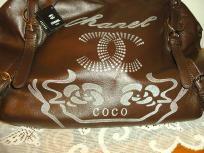 Coco Chanel Brown Hobo Bag