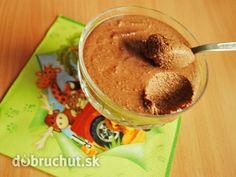 Domáci čokoládový termix Oatmeal, Easy Meals, Ice Cream, Favorite Recipes, Sweets, Breakfast, Food, Puddings, Recipes