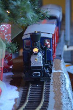 New Year Model Train