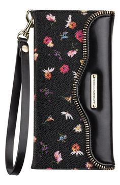 Free shipping and returns on Rebecca Minkoff x Case-Mate iPhone 6 Plus Floral Wristlet at Nordstrom.com. Known for their finely crafted and stylized tech accessories, Case-Mate teams up with renowned fashion designer Rebecca Minkoff to bring an exclusive collaboration of playful and on-trend designs straight from the runway. Rebecca Minkoff's signature pressed-flower print and zip-teeth trim offer a sophisticated mix of whimsy and edgy to your street style, while the interior iPhone case ...