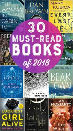 30 Best Books of 2018 - Best Books - Top Books - Must-read books for the year! #books #reading
