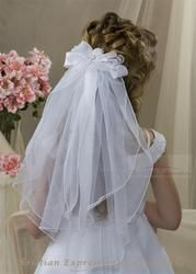 First Communion Clip Veil ideas for Emma.