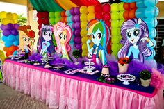 Decoracion Fiesta Equestria Girl