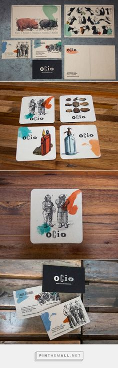 Identidad corporativa para el restaurante OCIO | JohnAppleman®Blog Madrid y Sevilla - created via https://pinthemall.net