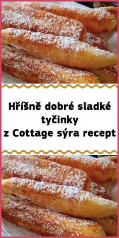 Cas, Czech Recipes, Easter Recipes, Sweet Desserts, Desert Recipes, Nutella, Sweet Treats, Food And Drink, Cooking Recipes