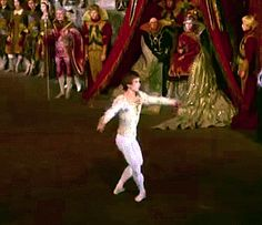 Rudolf Nureyev, in Swan Lake.  Another of my own gifs.