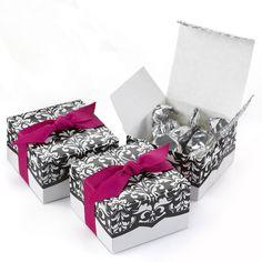 Designer Wedding Favor Box (Pack of 25)