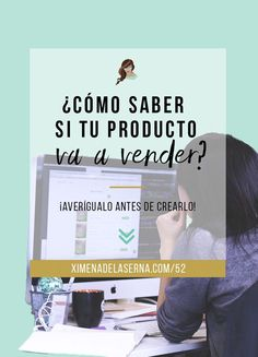 Cómo saber si tu producto se va a vender (¡antes de crearlo!) Estrategia de ventas y mercadotecnia.