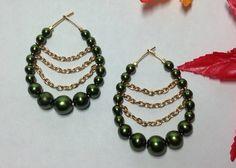 Earrings handmade, brincos feito a mao, acessorios.Sayuri Goya