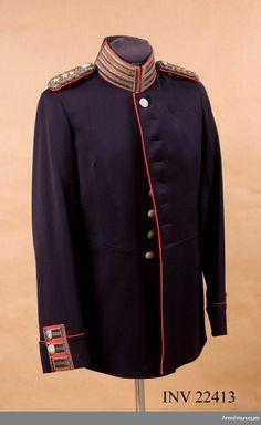 Tunic m/1886 for Colonel at the 1st Life Grenadier Regiment. Vapenrock m/1886 för överste vid Första livgrenadjärregementet