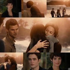 Forever goes a long way Twilight Jacob And Renesmee, Twilight Film, Twilight Jokes, Twilight Saga Series, Twilight Edward, Twilight Breaking Dawn, Twilight Cast, Edward Bella, Twilight New Moon