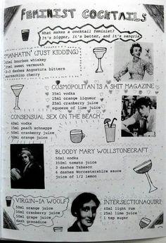 Feminist Drinks!