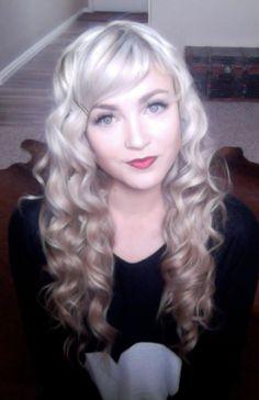 retro curls tutorial (click on picture)