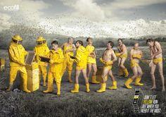 Ecofill: Yellow Что может случиться, если тонер закончится в самый не подходящий момент? Смотрите примеры рекламного сообщения компании производящей картриджи для принтеров!