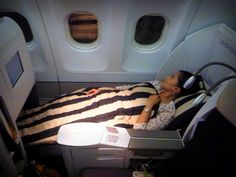 Air France / Etihad business class Paris to Abu Dhabi