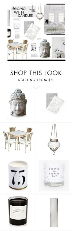 """""""Candles"""" by hellodollface ❤ liked on Polyvore featuring interior, interiors, interior design, maison, home decor, interior decorating, NOVICA, Cultural Intrigue, L'Objet et Byredo"""