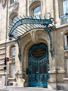 Chambre de Commerce et d'Industrie à Nancy (France) 1908 Architecte : Louis Marchal, Lucien Weissenburger