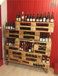 1000 images about aimer le vin on pinterest lille wine - Meuble cave a vin en bois ...
