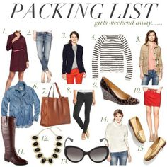 jillgg's good life (for less) | a style blog: what to pack: a girls weekend in East Hampton!
